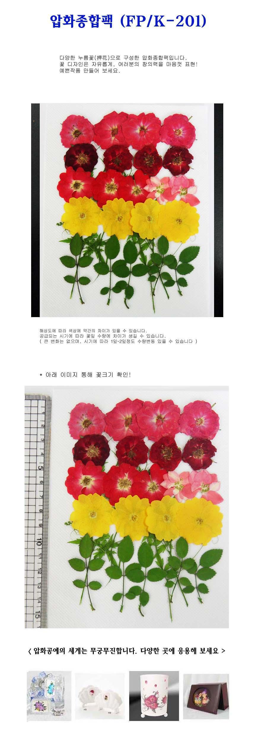 압화꽃 종합팩 K201 - 프레스코21, 7,000원, 압화 공예, 압화 공예 재료