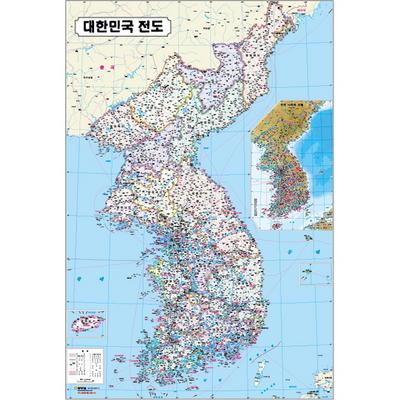 퍼즐 우리나라 지도 167PCS 아주 특별한 재밌는 도전