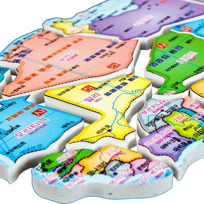 퍼즐 세계지도 190PCS 아주 특별한 재밌는 도전