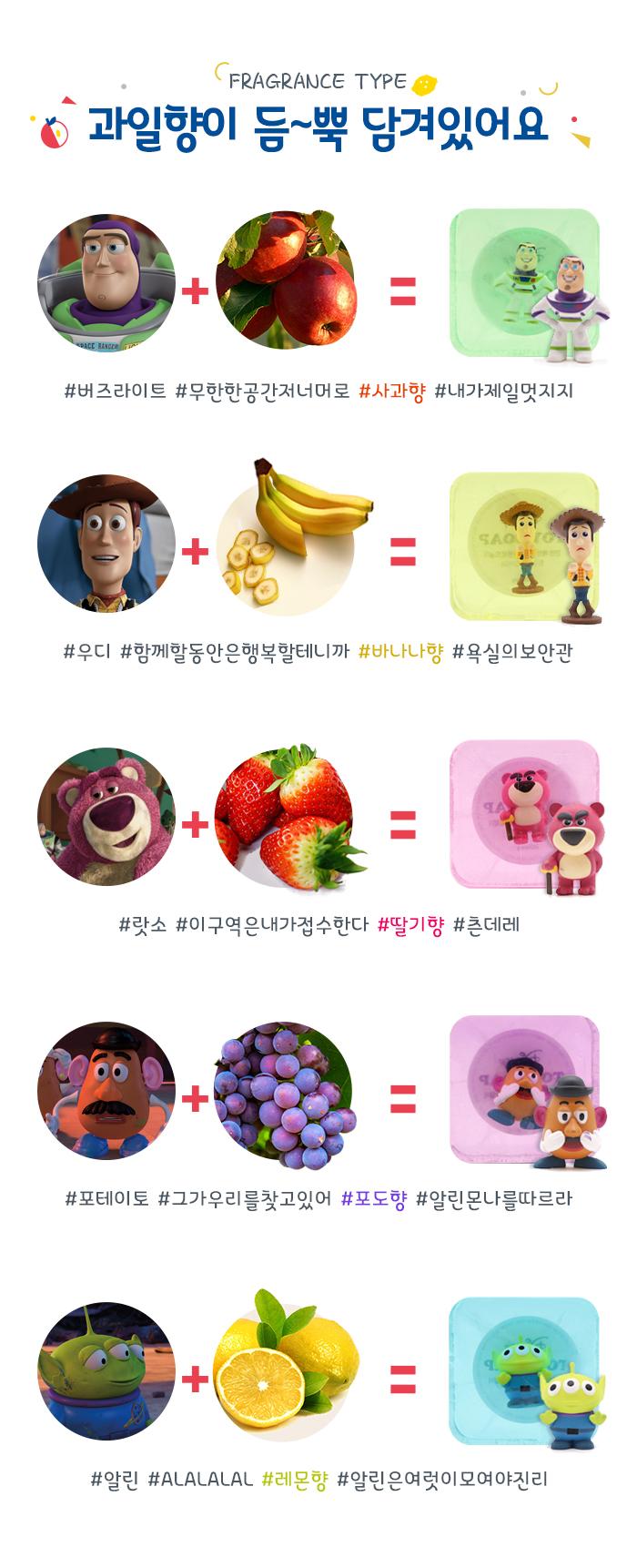 디즈니 피규어 비누 토이스토리 시리즈 - 팝, 6,900원, 클렌징, 비누