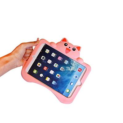 아이패드에어2.프로9.7 태블릿 어린이안전 고양이 실리콘케이스