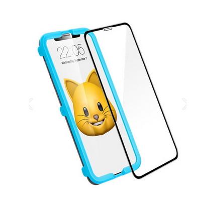 ESR정품 아이폰XS Max 5X 가이드 강화유리