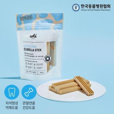 강아지간식 치카껌 클로렐라 스틱 100g
