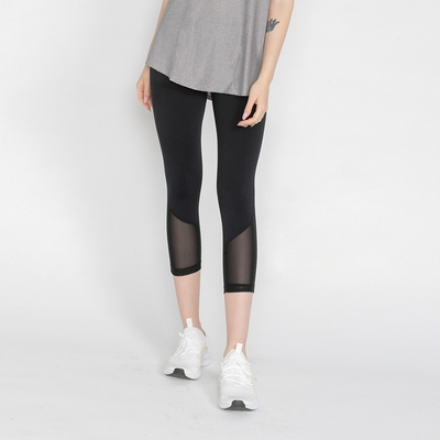 여성 운동복 루시 7부 요가레깅스 블랙