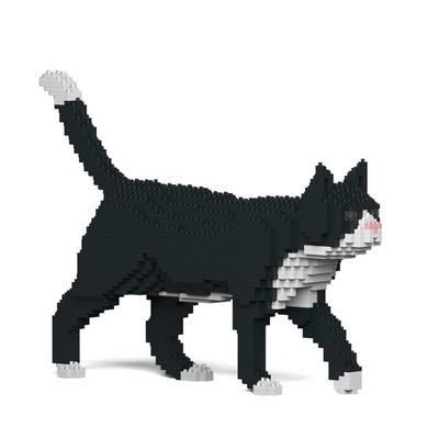 JEKCA 걷는 고양이레고 (턱시도)