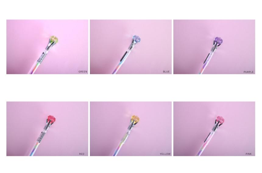 레인보우 홀로그램 다이어리 A6+다이아몬드펜+속지 - 오끼뜨, 13,500원, 만년형, 일러스트