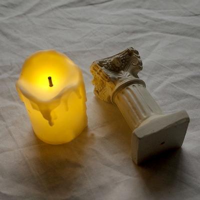 LED 미니 양초조명 미니초와촛대 SET