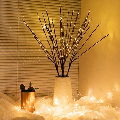 와이어 트리 나뭇가지 LED 조명