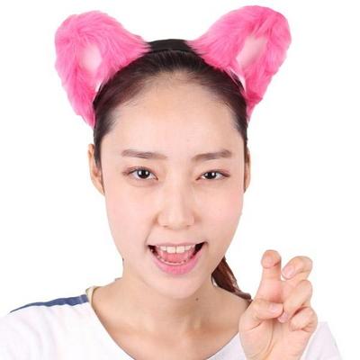 럭셔리머리띠(핑크,블랙,화이트)