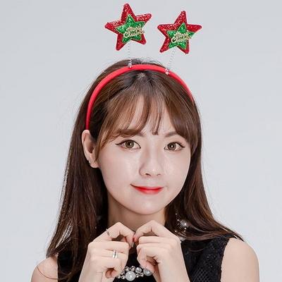 크리스마스머리띠(별)