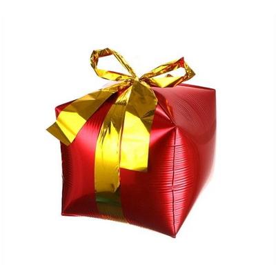 4D 선물상자 은박풍선
