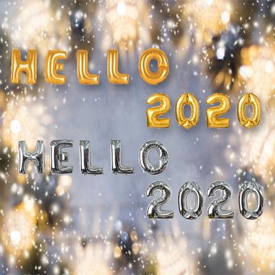 연말파티 HELLO 2020 은박풍선세트(대)