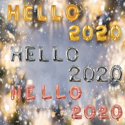 연말파티 HELLO 2020 은박풍선세트(소)