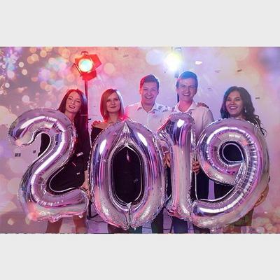 연말파티 신년파티 2019 은박풍선세트(대)