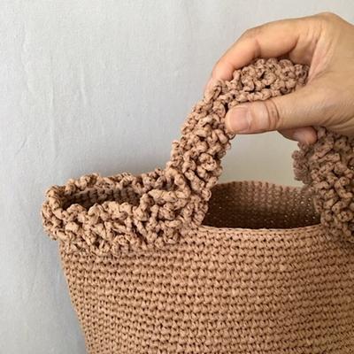 브로콜리 뜨개 가방-4color--뜨개가방-니팅백