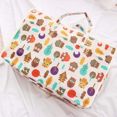 부엉 어린이집낮잠이불 방수 가방