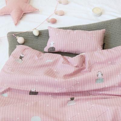 폼폼 겨울아기이불 핑크