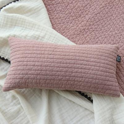 누빔 아기 솜베개 핑크