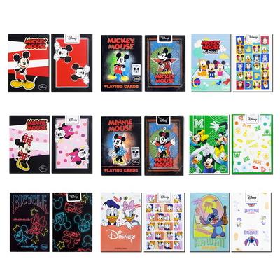 JLCC 디즈니 미키 미니 마우스 캐릭터 덱 플레이 카드