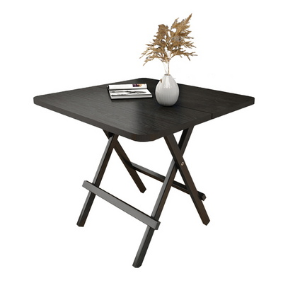 초이스미 중형 80x80x75cm 접이식 블랙 테이블