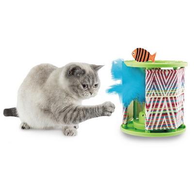 원더팟 움직이는 고양이 깃털 자동 장난감