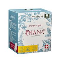 안전한 여성용품 냄새잡는 순면생리대 중형 12P