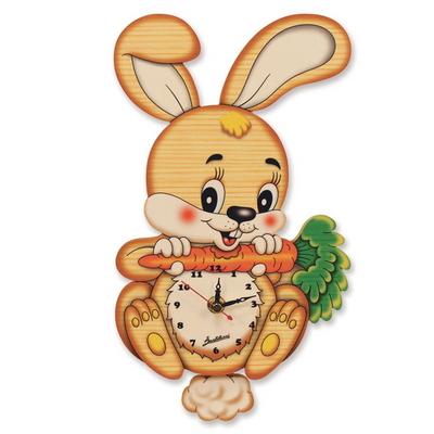 토끼 벽시계