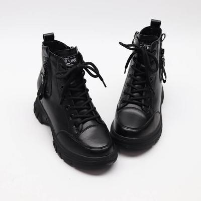 여자 가을 기모안감 하이탑 스트릿 부츠 운동화 신발