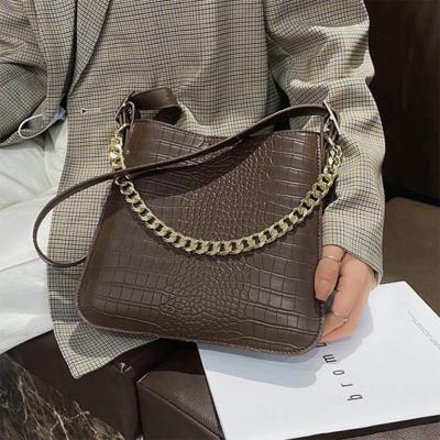 여자 악어무늬 체인 숄더백 투웨이 크로스백 가방