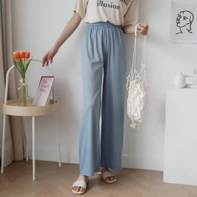 여자 여름 홈웨어 키큰녀 와이드핏 허리밴딩 팬츠
