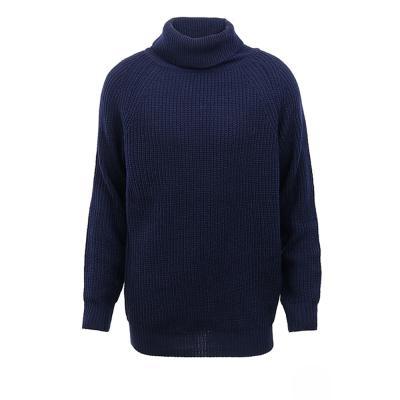 남성 겨울 미니 꽈배기 나그랑 목폴라 니트 스웨터