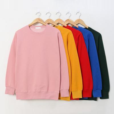 남성 여성 겨울 11컬러 무지 단색 기모 맨투맨 티셔츠