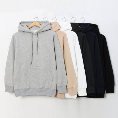 남성 여성 겨울 11컬러 무지 기본 기모 후드 티셔츠
