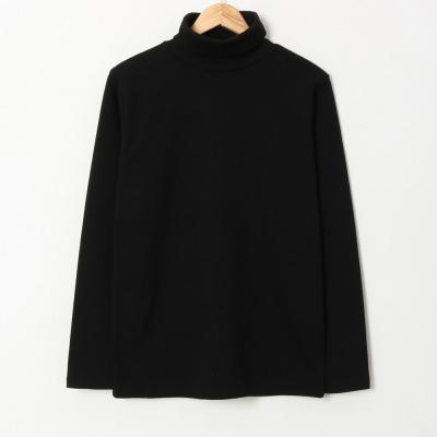 겨울 베이직 소프트 스판 이너 목 폴라 티셔츠
