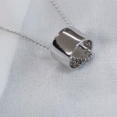여자 실버 925 심플 은목걸이 인기상품 50% 모음