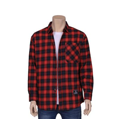 남자 타탄 체크 캐주얼 봄 가을 남방 셔츠
