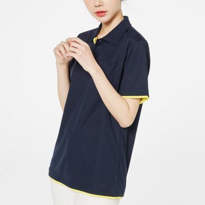 여성 남성 포인트 레이어드 드라이 여름 반팔 티셔츠