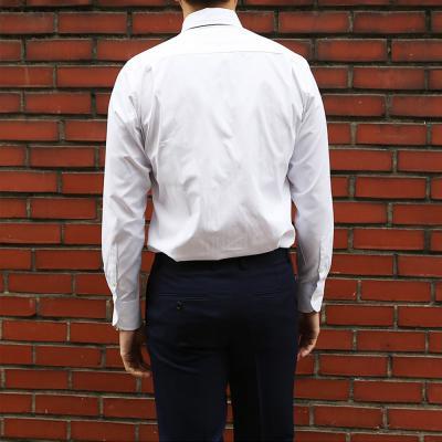 남성 정장 셔츠 레귤러 카라 고정 핀 드레스 셔츠