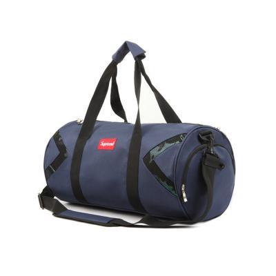 남녀공용 슈프림 원통형 숄더 보스턴 축구가방