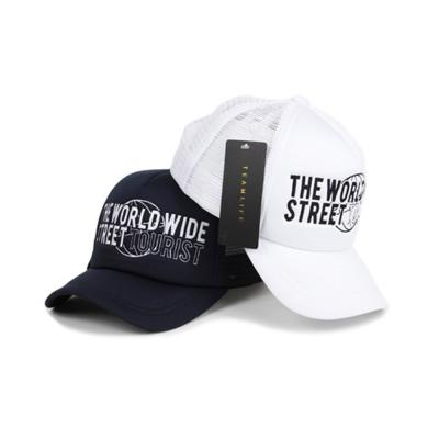 남자 여자 투어리스트 시원한 여름 매쉬캡 모자
