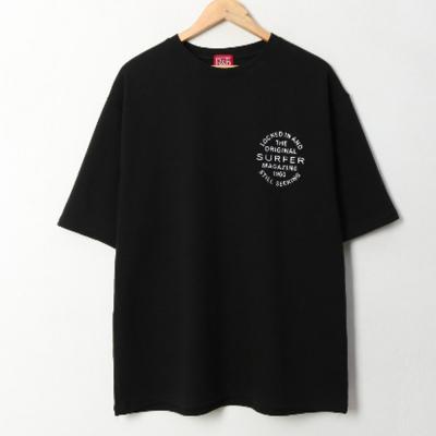남녀공용 서퍼레터링 오버핏 반팔 티셔츠