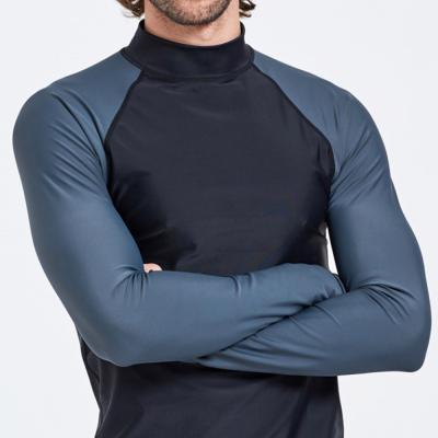남자 비치웨어 레쉬가드 반목 긴팔 나그랑 티셔츠
