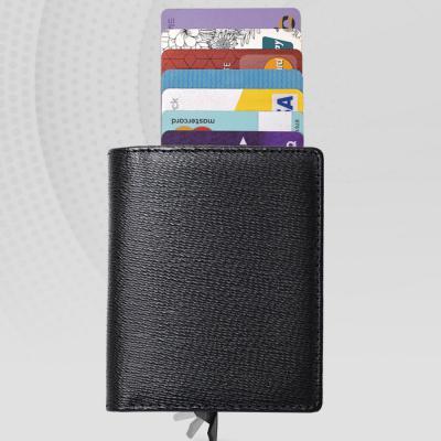 남녀공용 여행 RFID 차단 기능성 반자동 반지갑