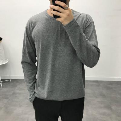남성 기본 필수 컬러 슬라브 라운드 티셔츠