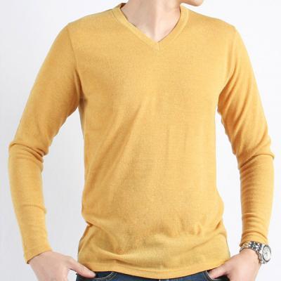 남성 11컬러 가을 기본 부드러운 브이넥 니트티셔츠