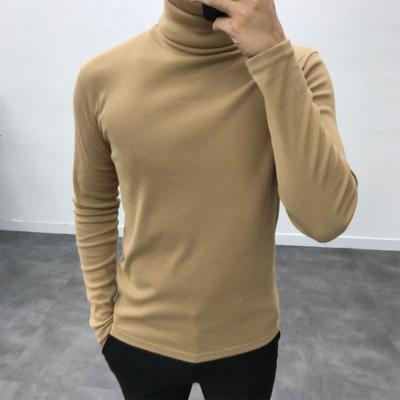 남성 20수 8컬러 데일리 이너 폴라 티셔츠
