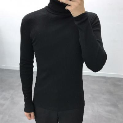남성 20수 데일리 이너 8컬러 기본 폴라 티셔츠