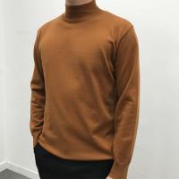 남성 댄디 심플 반목 고퀄리티 부드러운 폴라 티셔츠