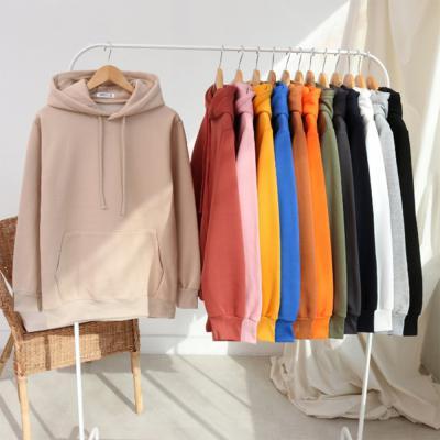 남녀공용 캐주얼 커플 12컬러 가을 겨울 기모 후드 티셔츠