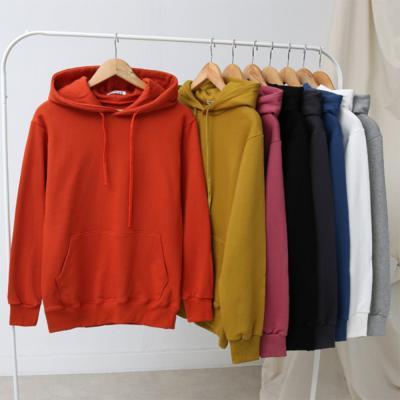 남자 여자 캐주얼 쮸리 긴팔 레이어드 후드 티셔츠